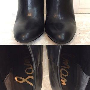 Sam Edelman Shoes - Sam Edelman Kourtney Leather Ankle Boots